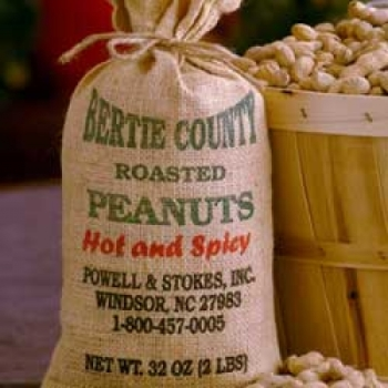 Roasted in the shell Peanuts - Hot